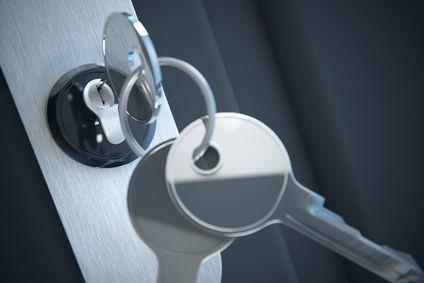 Neues Schloss mit Schlüssel