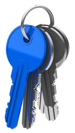 Farbiger Schlüssel