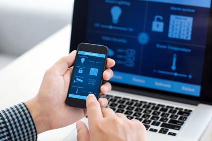 Moderne Überwachung per Smartphone